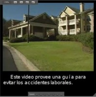 Example video with Spanish captions