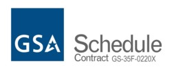 GSA Logo, contract number GS-35F-0220X