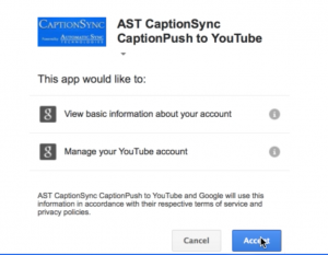 youtube captioning app