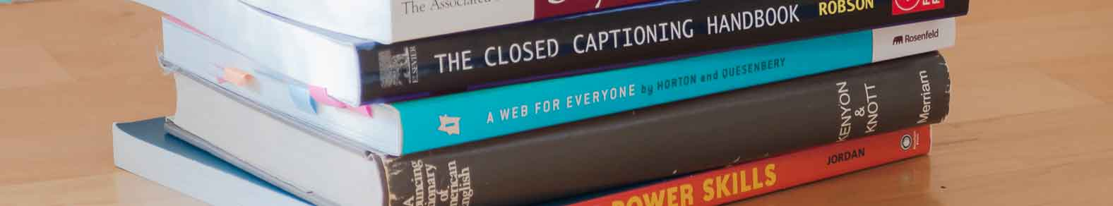 closed captioning books