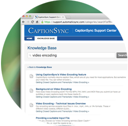 CaptionSync Support Center